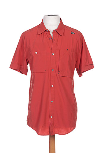 millet chemises homme de couleur orange