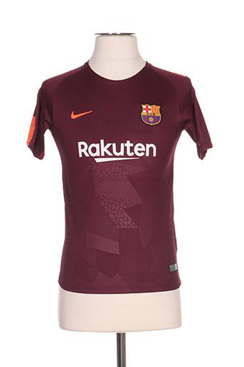 2eca27c733e0b NIKE T-shirts T-shirts manches courtes de couleur rouge en soldes pas cher  1175154-rouge0 - Modz