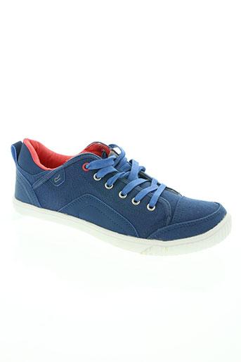 regatta chaussures homme de couleur bleu