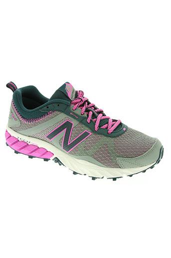 new balance chaussures femme de couleur gris