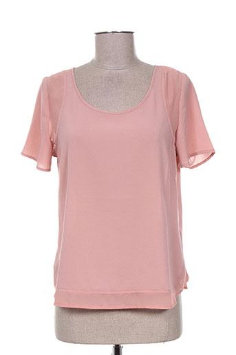 el internationale chemises femme de couleur rose