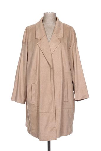 Manteau long beige FUCHS SCHMITT pour femme
