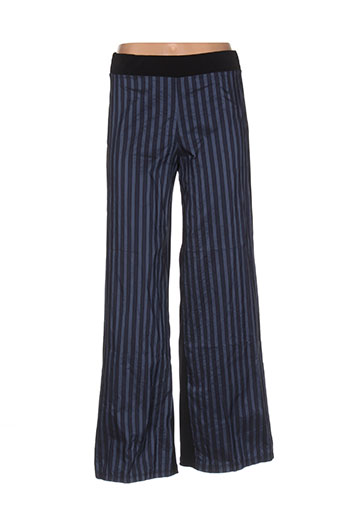 xxla femme pantalons femme de couleur bleu