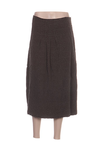 grizas jupes femme de couleur marron