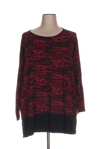 alembika tuniques femme de couleur rouge