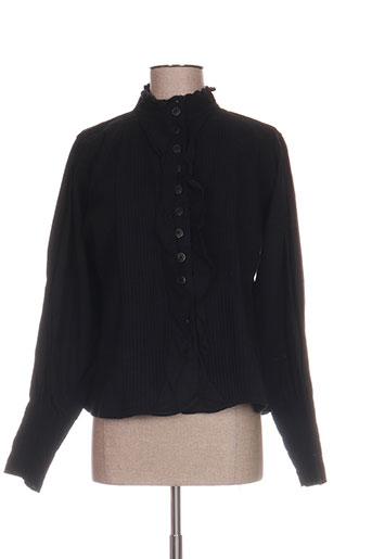 ewa i walla vestes femme de couleur noir