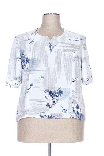 coutureine chemises femme de couleur bleu