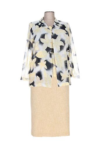 Veste/jupe jaune COUTUREINE pour femme