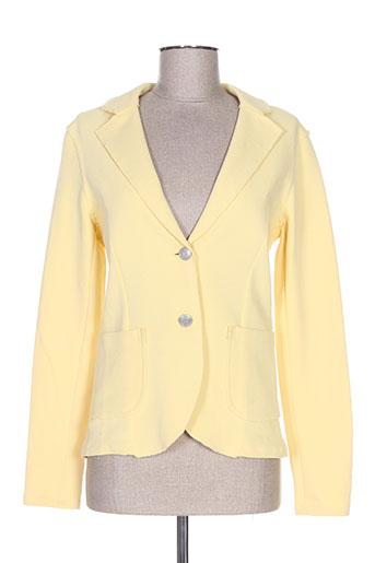 Veste chic / Blazer jaune CONCEPT K pour femme