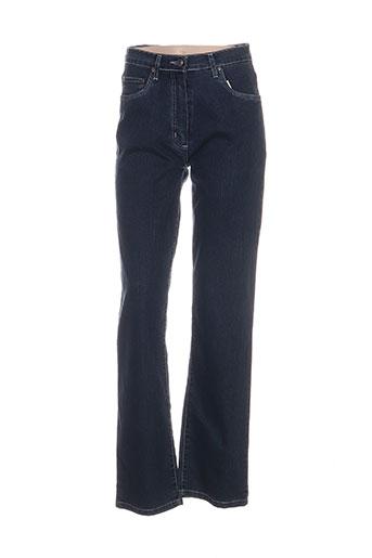 griffon jeans femme de couleur bleu