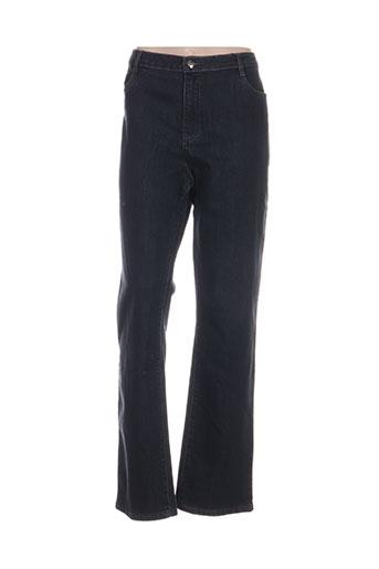 youline jeans femme de couleur bleu