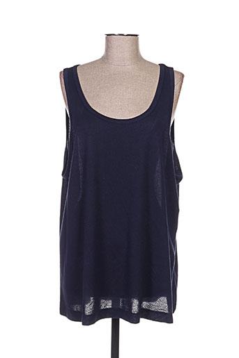imitz t-shirts femme de couleur bleu