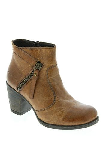 elue par nous chaussures femme de couleur marron