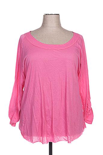 my square t-shirts femme de couleur rose