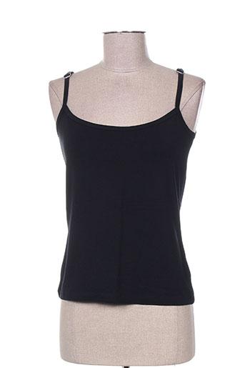 epicea chemises femme de couleur noir