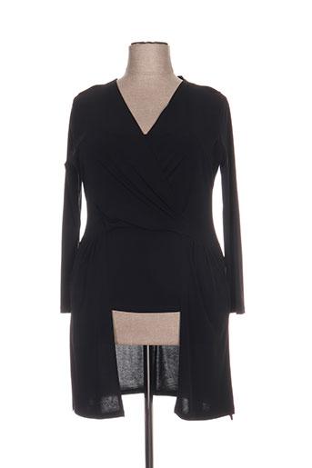 carisal tuniques femme de couleur noir