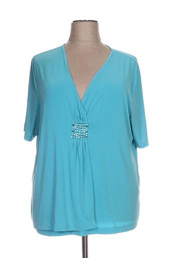 no secret chemises femme de couleur bleu
