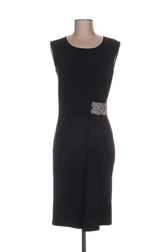 lonkel robes femme de couleur noir