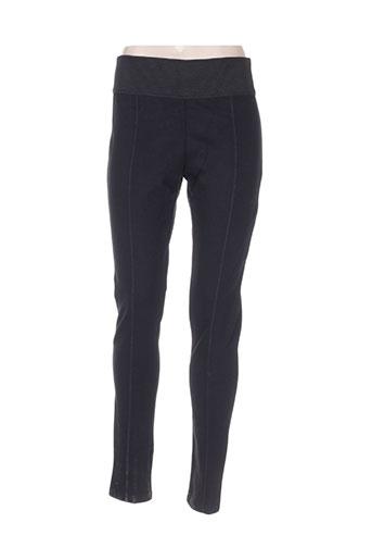 enjoy pantalons femme de couleur noir