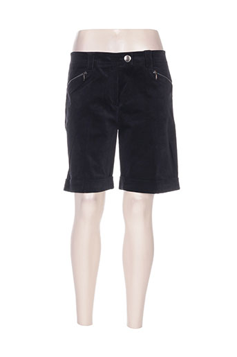 divas shorts / bermudas femme de couleur noir