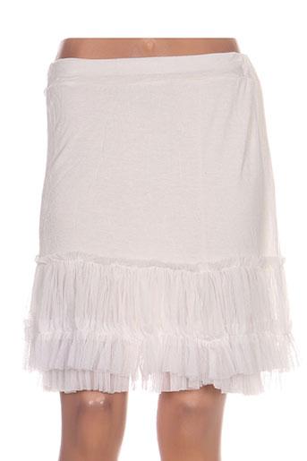 carla giannini jupes femme de couleur blanc