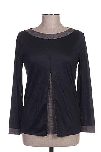 arti maglia chemises femme de couleur noir