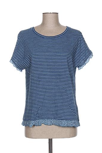 white stuff chemises femme de couleur bleu