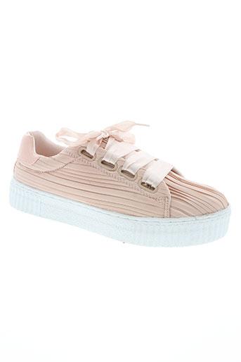 vero moda chaussures femme de couleur rose