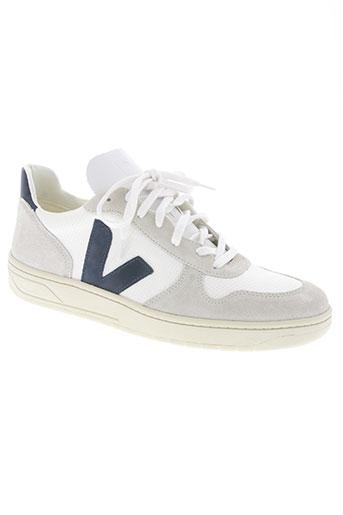 veja chaussures homme de couleur blanc