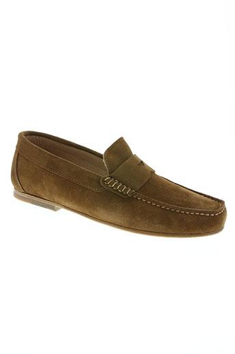 nautilus chaussures homme de couleur marron