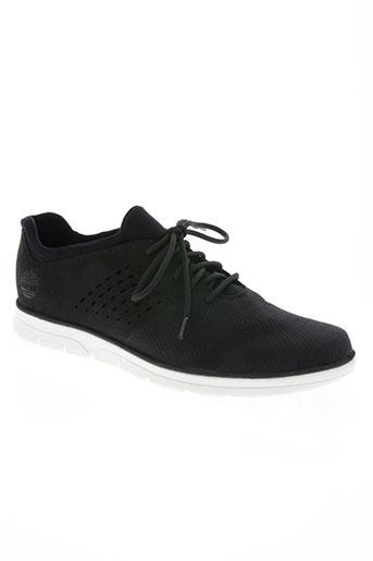 timberland chaussures homme de couleur noir