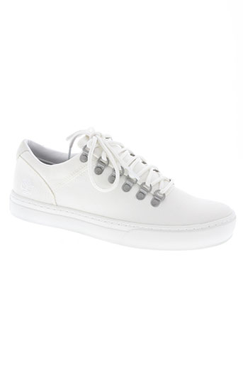 timberland chaussures homme de couleur blanc