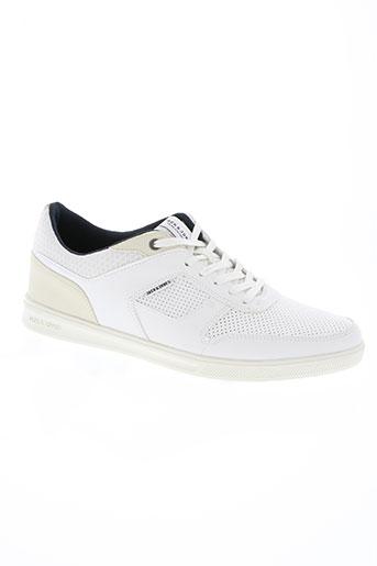 jack EFFI_CHAR_1 jones chaussures homme de couleur blanc