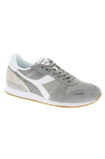 diadora chaussures homme de couleur gris