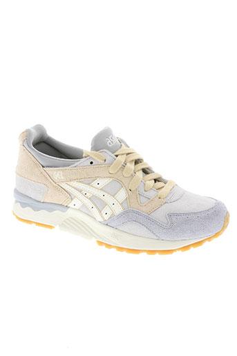 asics chaussures homme de couleur gris