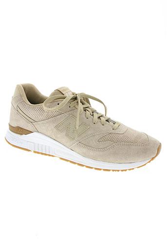 new balance chaussures homme de couleur beige