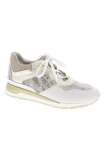 geox chaussures femme de couleur beige