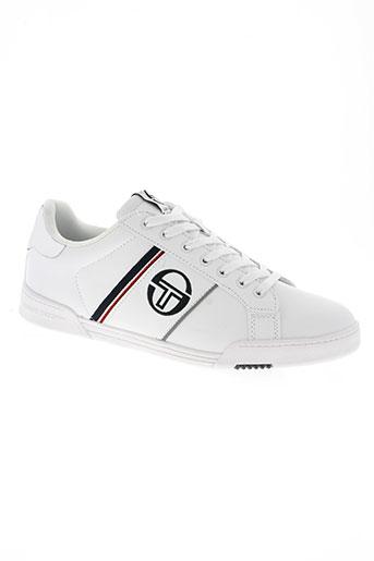 sergio tacchini chaussures homme de couleur blanc