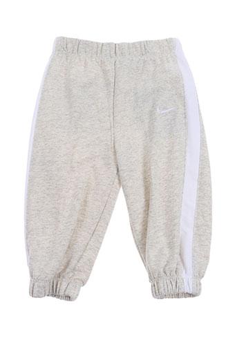 nike pantalons garçon de couleur beige