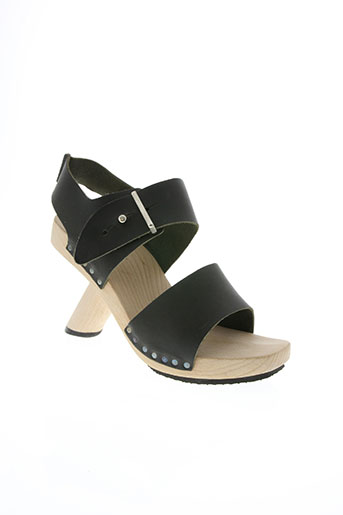 trippen chaussures femme de couleur noir