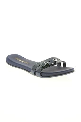 melissa chaussures femme de couleur bleu