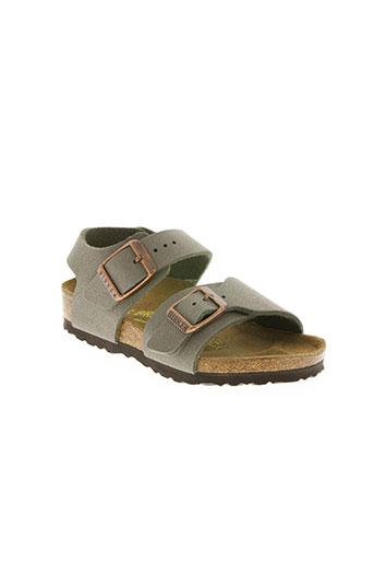 birkenstock chaussures enfant de couleur beige