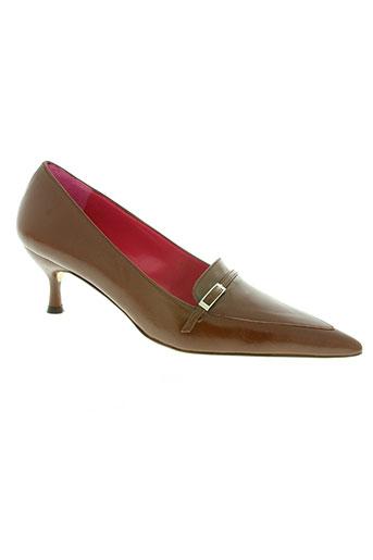 butterfly chaussures femme de couleur marron