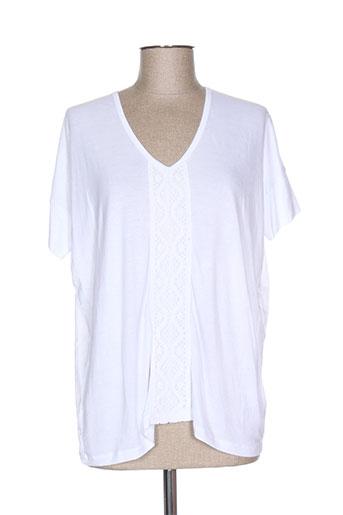 so soon t-shirts femme de couleur blanc