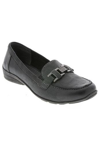 marco tozzi chaussures femme de couleur noir