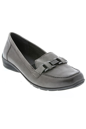 marco tozzi chaussures femme de couleur gris