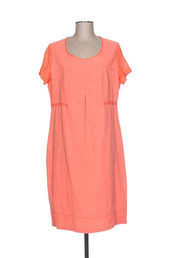jean gabriel robes femme de couleur orange