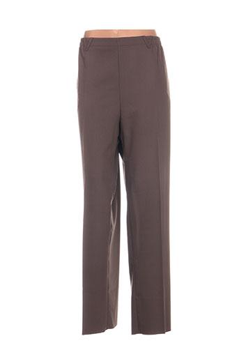 karting pantalons femme de couleur marron