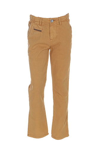 Pantalon casual jaune GARCIA pour garçon