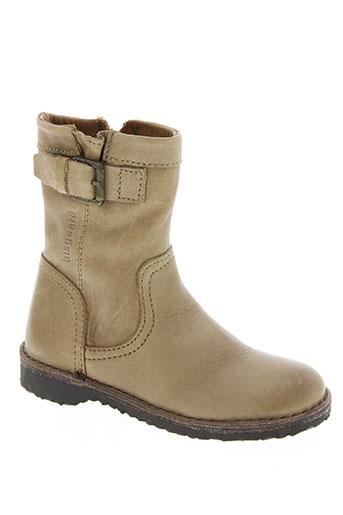 bisgaard chaussures fille de couleur beige